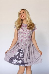 Reed Pop Supply - Darth Vader Flower dress by Her Universe