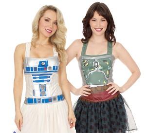 Thinkgeek - Star Wars corset tops (R2-D2 or Boba Fett)