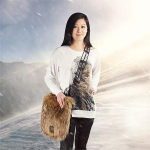Thinkgeek - Chewbacca furry shoulder bag by Loungefly