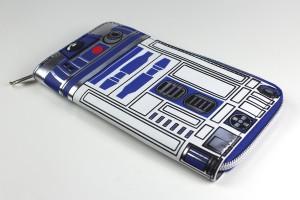 Bioworld - women's R2-D2 zip up wallet