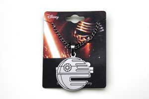 Body Vibe - Death Star cut out pendant necklace
