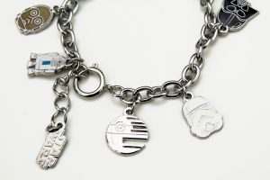Love And Madness x Star Wars - Character charm bracelet