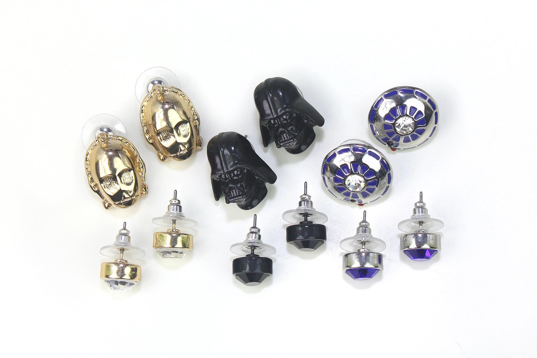 Torrid Star Wars Stud Earring Set Made By Sg Nyc