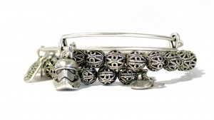Alex And Ani - First Order Stormtrooper expandable bracelet (with other)