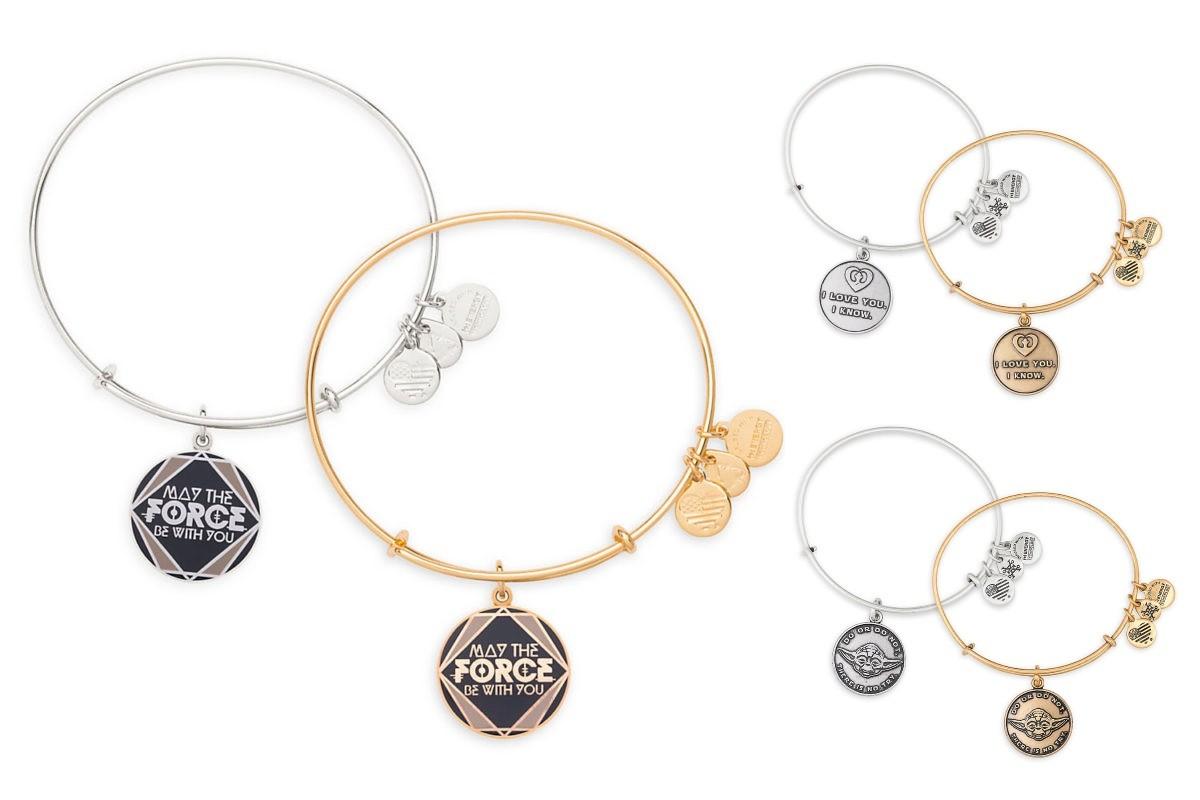 Alex And Ani x Star Wars quote bracelets
