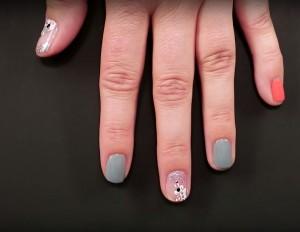 Disney Style - BB-8 nail art
