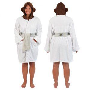 Entertainment Earth - Robe Factory Princess Leia fleece robe