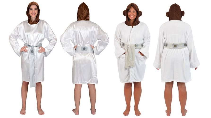 Leia robes at Entertainment Earth