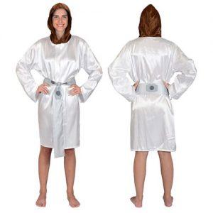 Entertainment Earth - Robe Factory Princess Leia satin robe
