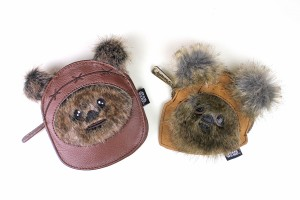 Loungefly - Ewok coin purse comparison (two different styles)