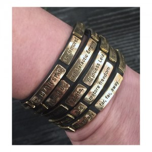 Love And Madness - Star Wars 'crawl' wrap bracelet