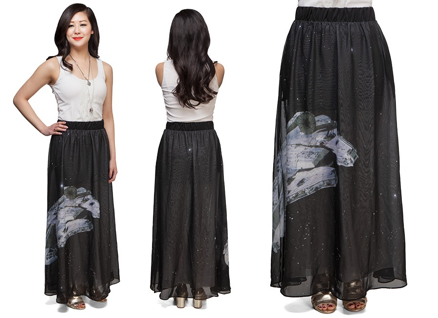New maxi skirt at Thinkgeek