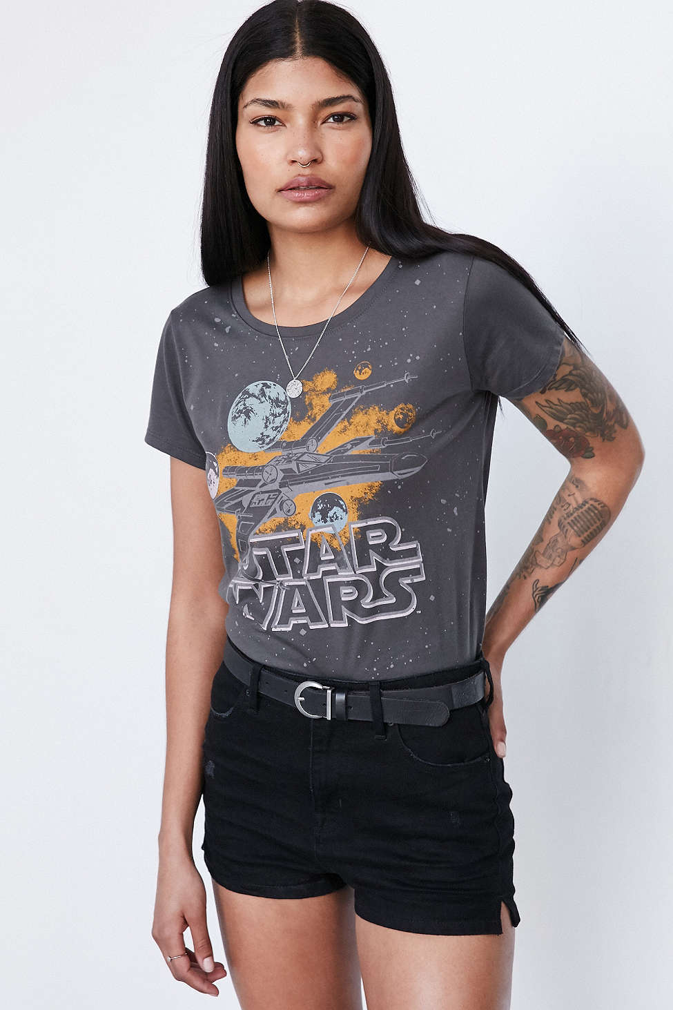 Star Wars Galaxy tee at Urban Outfitters