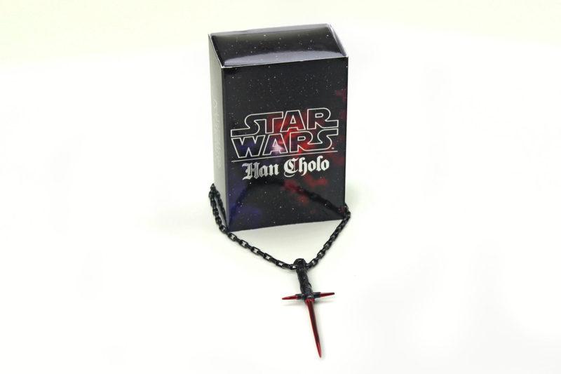 Entertainment Earth - Han Cholo x Star Wars Kylo Ren lightsaber necklace