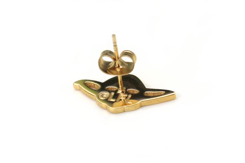Entertainment Earth - Han Cholo Yoda stud earrings