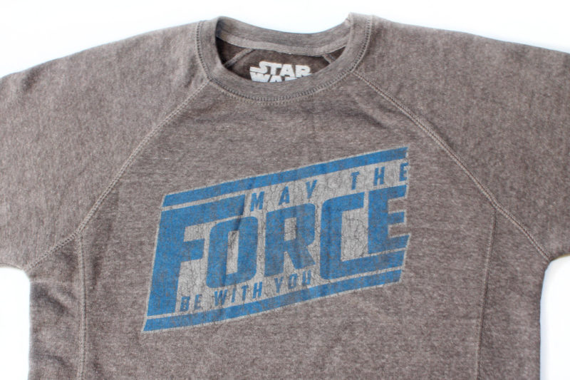 Her Universe - women's 'May The Force Be With You' sweatshirt
