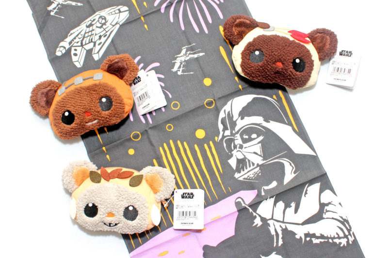 Ewok 'face pouch' coin purses from Japan
