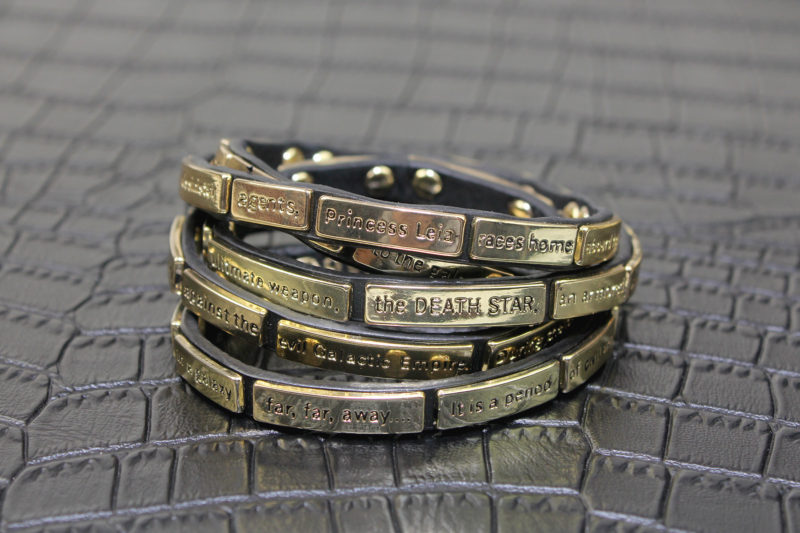 Love And Madness - Star Wars ANH crawl wrap bracelet