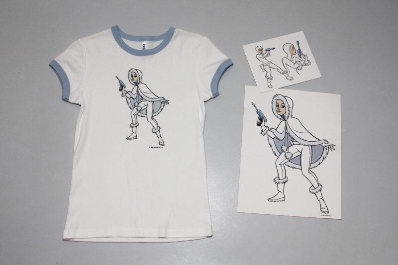 Women's Star Wars micro series Clone Wars Padme' t-shirt