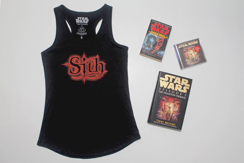 Women's Darth Maul themed Sith tank top by Her Universe