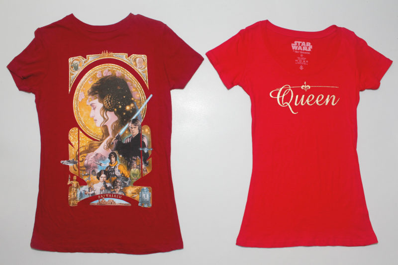 Women's Padme' Amidala t-shirts by Her Universe