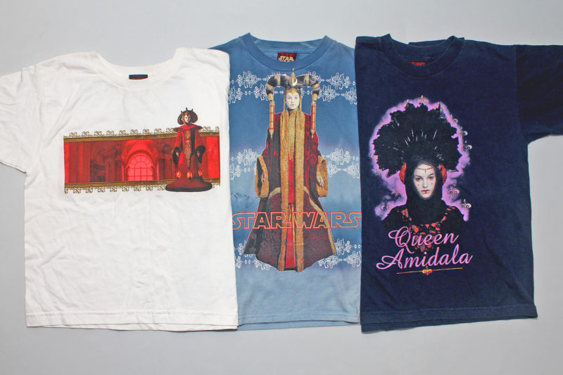 Men's/boys' Queen Amidala t-shirts
