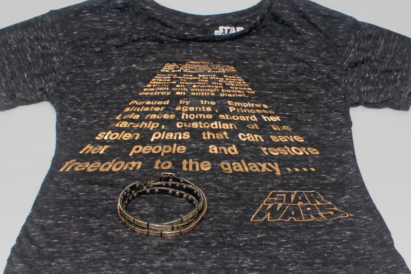 Love And Madness - Star Wars ANH crawl wrap braclet