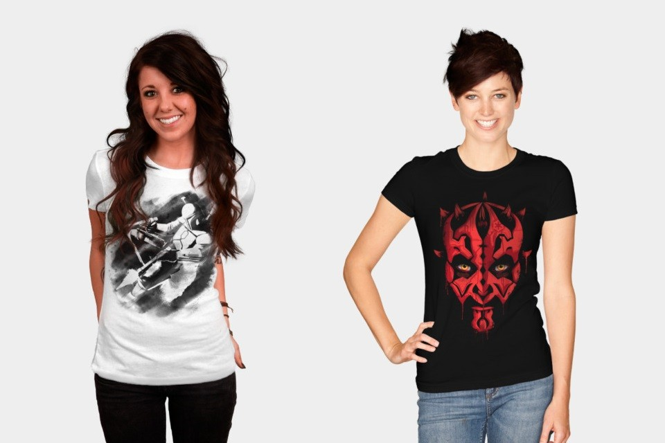 Prequel themed women's apparel