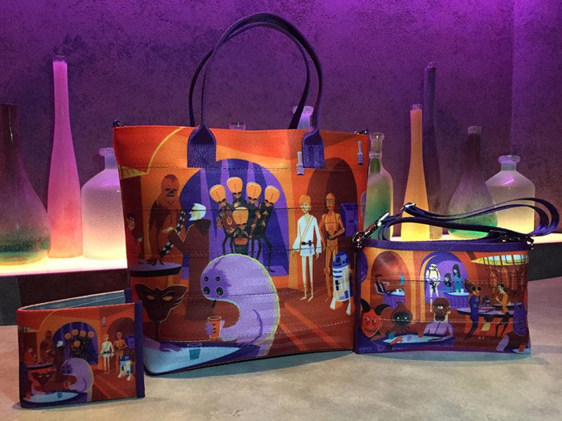 Disney Parks Blog - Harveys x Star Wars bags with artwork by SHAG