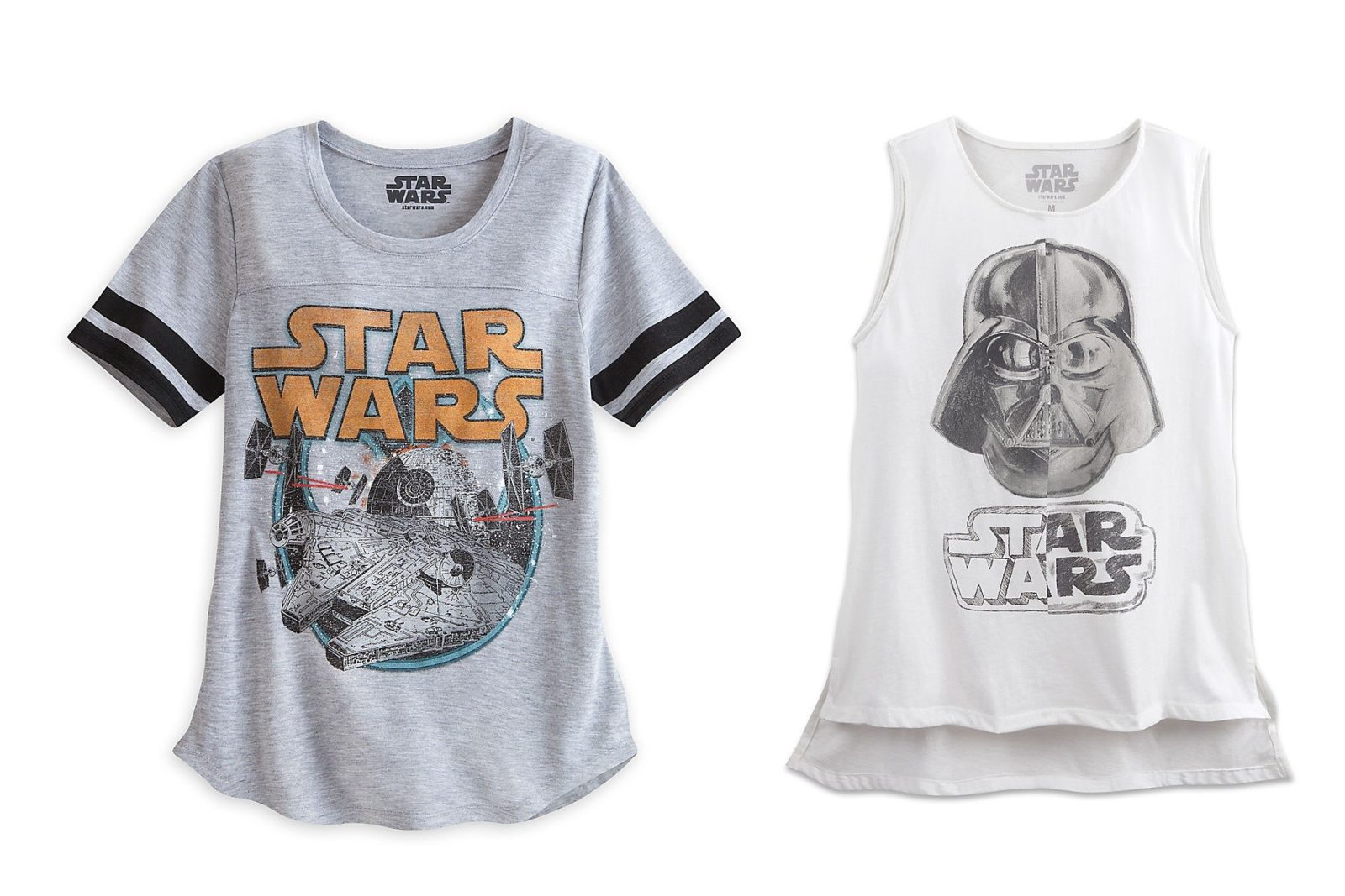 New apparel at the Disney Store