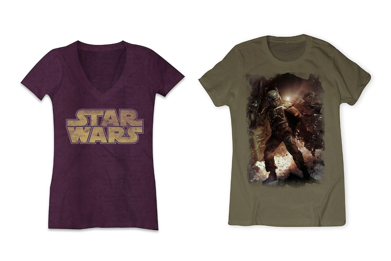 Limited release tees at Disney Store