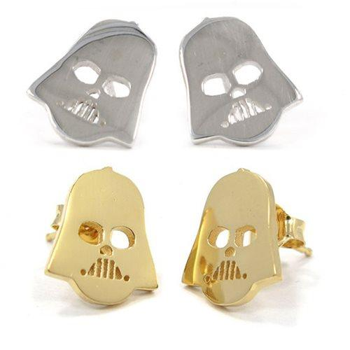 Entertainment Earth - Han Cholo x Star Wars Darth Vader stud earrings