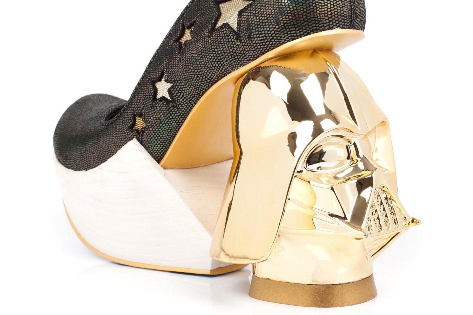 Irregular Choice – Golden Vader heels!