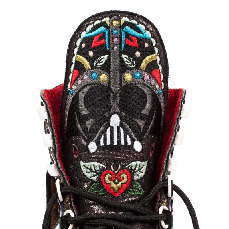 Irregular Choice - 2016 collection R Series Darth Vader high tops