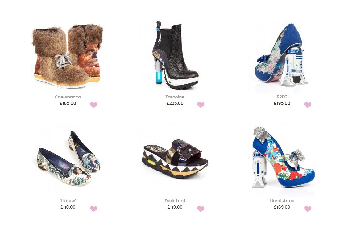 Irregular Choice x Star Wars out now!