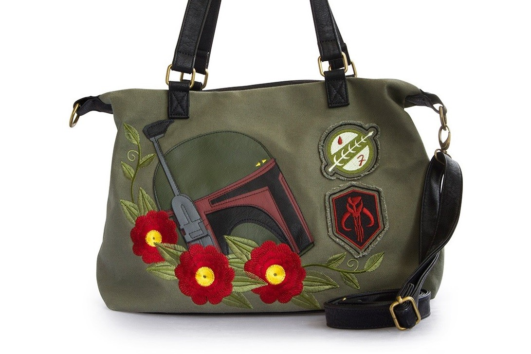 New Loungefly Boba Fett twill bag and wallet