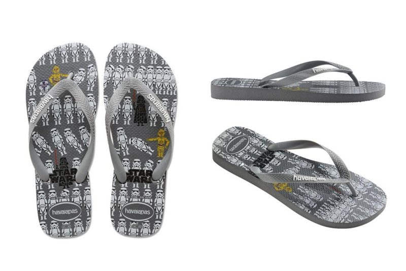 Thinkgeek - women's Havaiana's x Star Wars flip flops