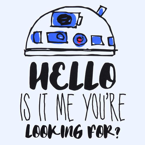 Thinkgeek - women's R2-D2 tank top