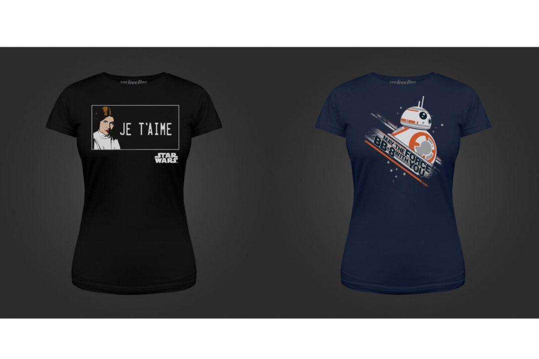 We Love Fine - Star Wars Day new women's t-shirts