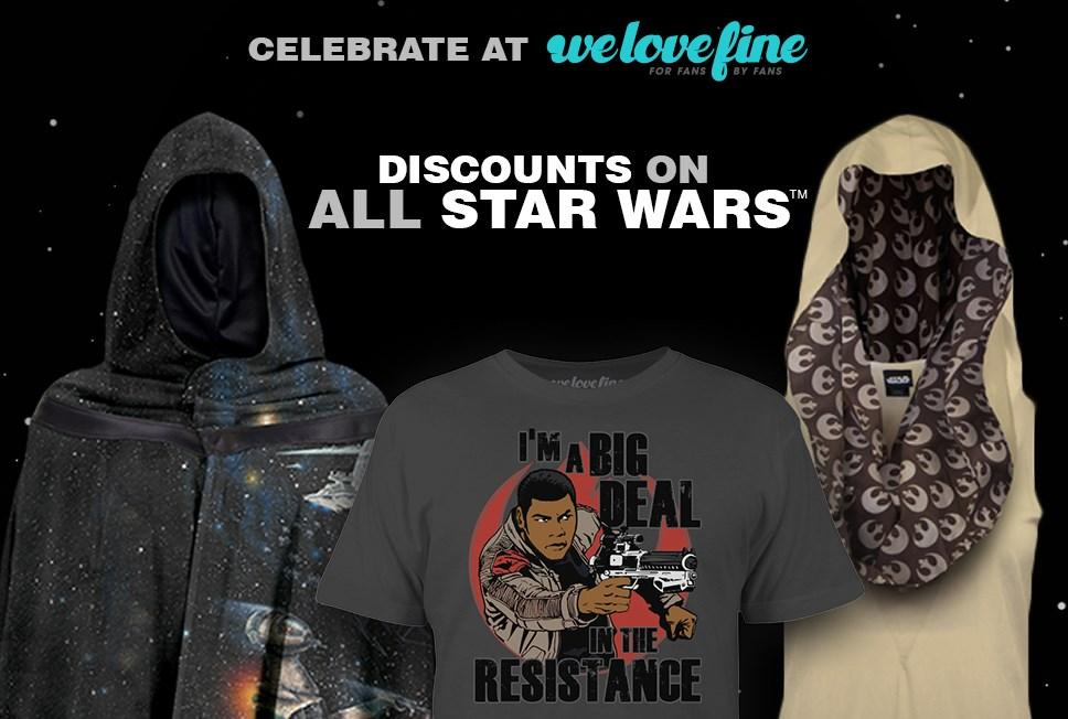 May the 4th sale at We Love Fine