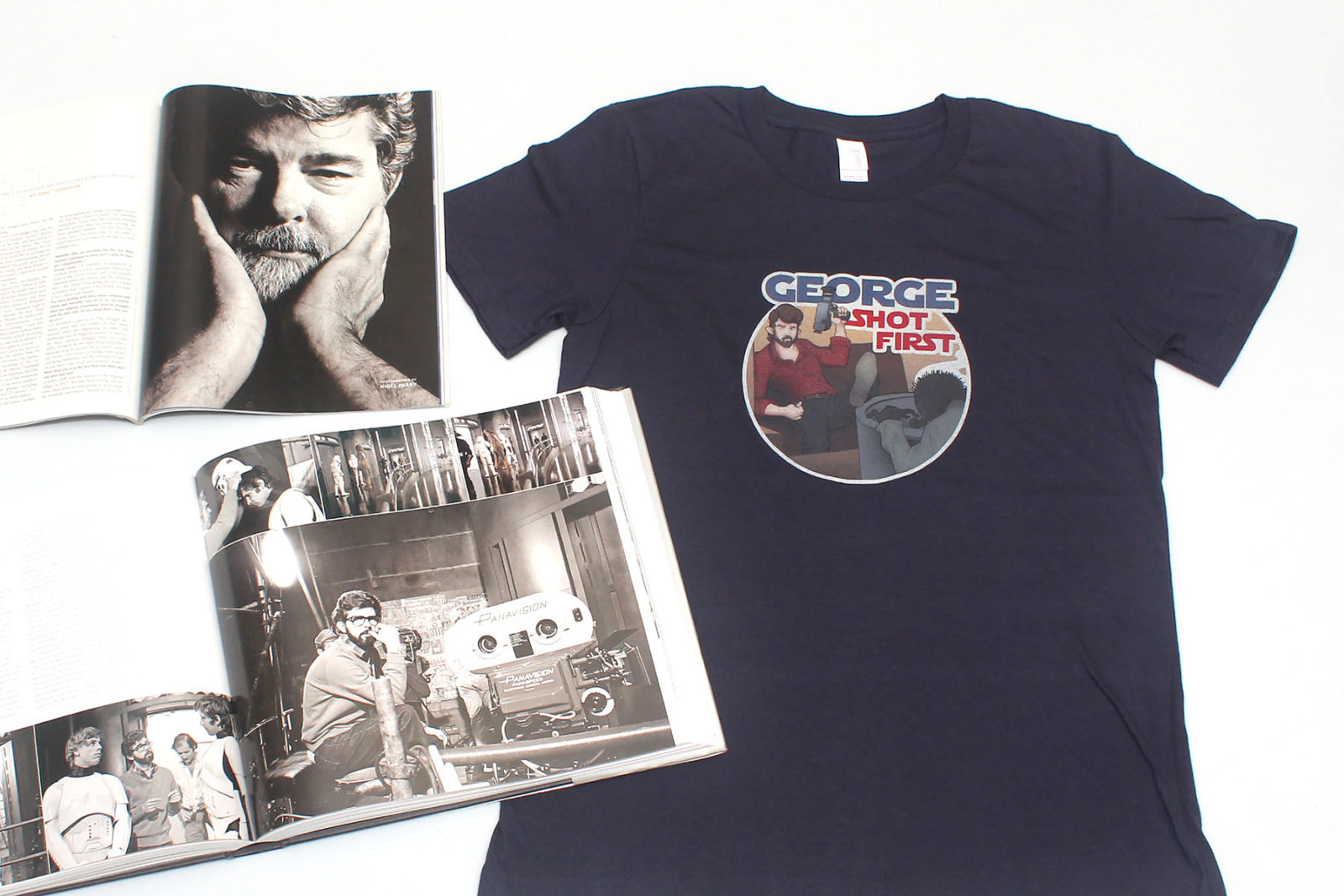 Review – George Shot First t-shirts