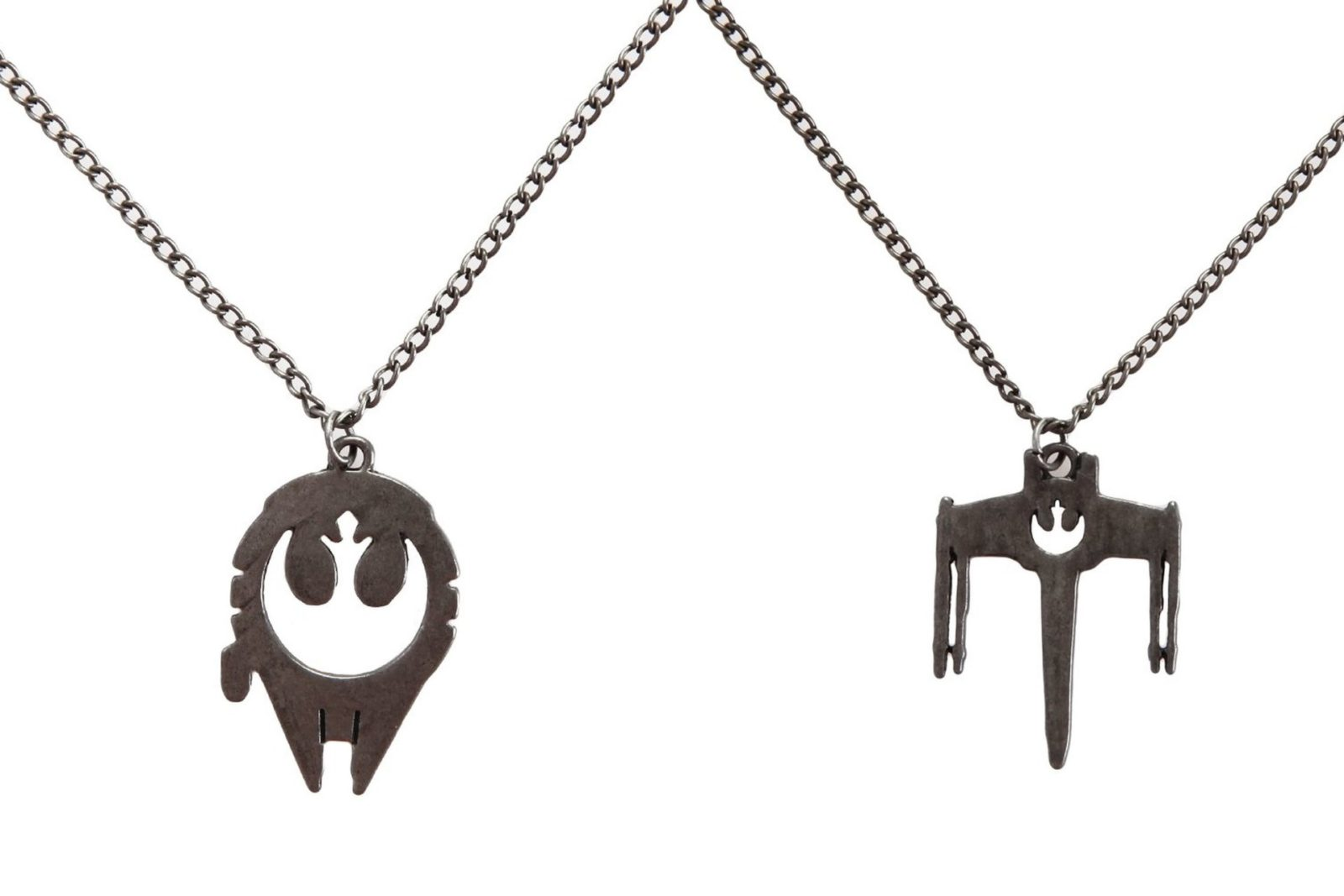 Rebel Alliance symbol cut-out necklaces