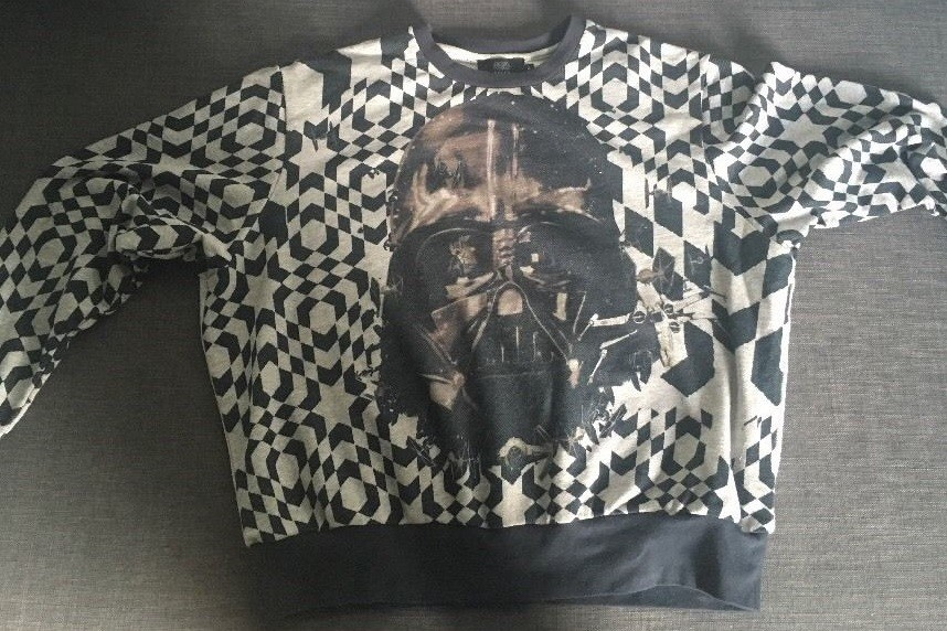 Preen x Star Wars sweatshirt on eBay