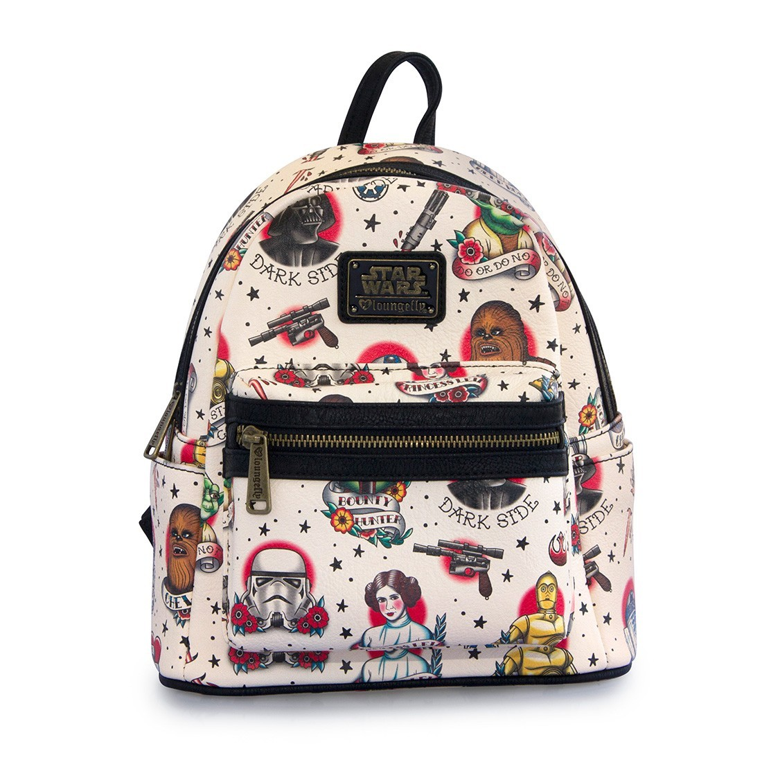 Loungefly - Star Wars  baby character  mini backpack Loungefly - Star Wars   tattoo flash  mini backpack 442ee58e5e2a9