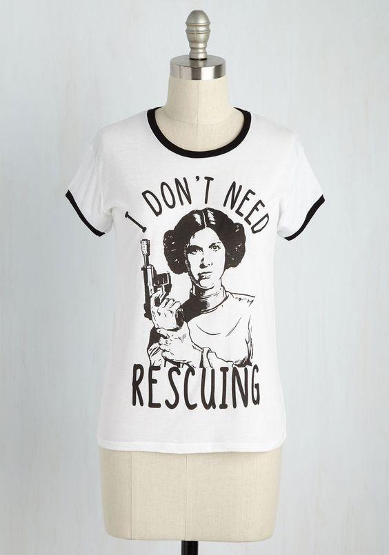 Princess Leia t-shirt at ModCloth - The Kessel Runway Old Princess Leia Shirts