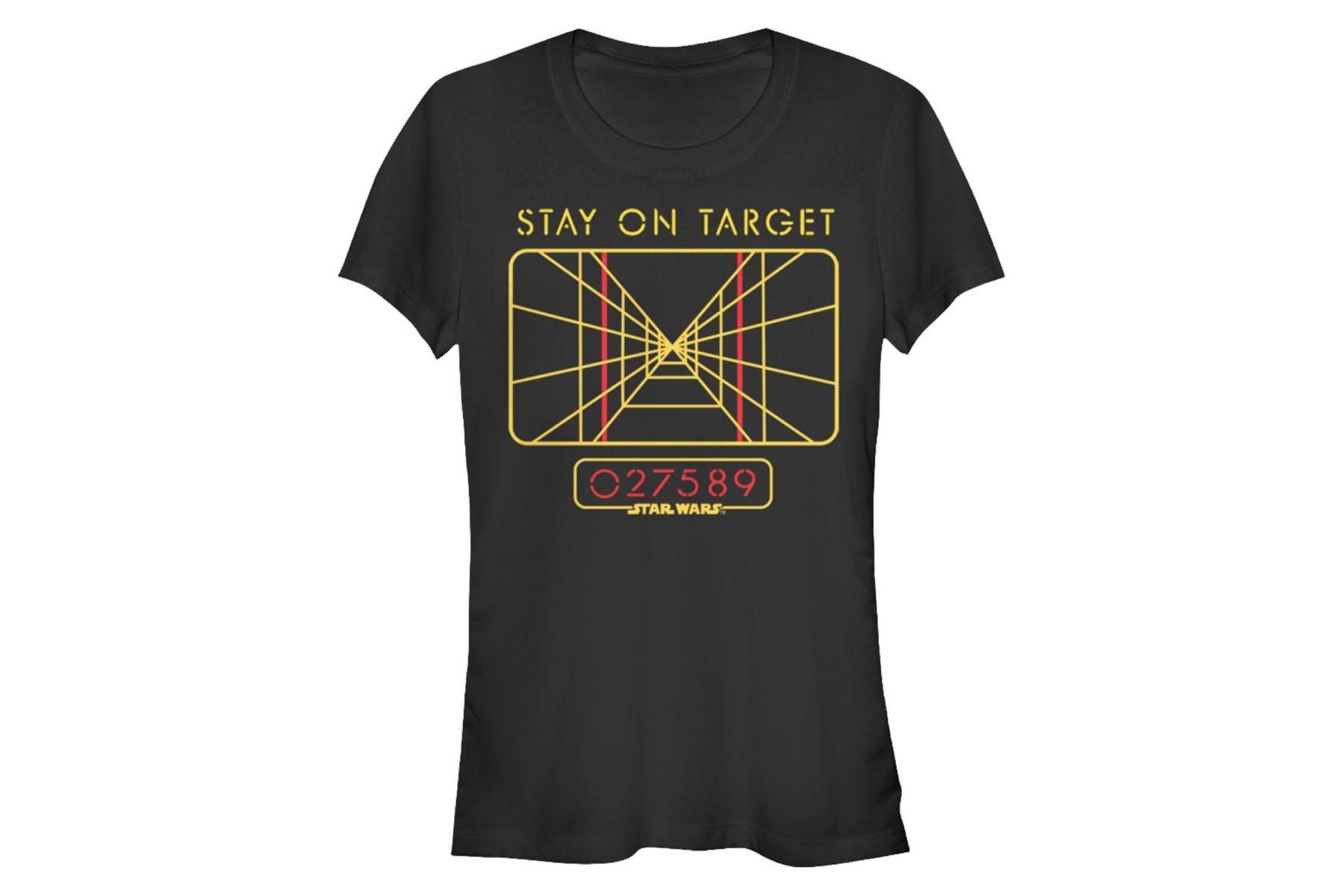 Black t shirt target - 80 S Tees Fifth Sun Women S Stay On Target T Shirt
