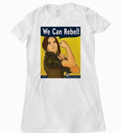 Beep Boop Beep Clothing - women's We Can Rebel tee