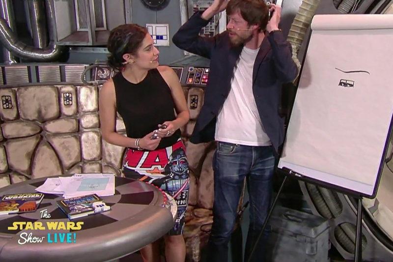 Celebration Europe 2016 - Star Wars Show host Andi Guetierrez