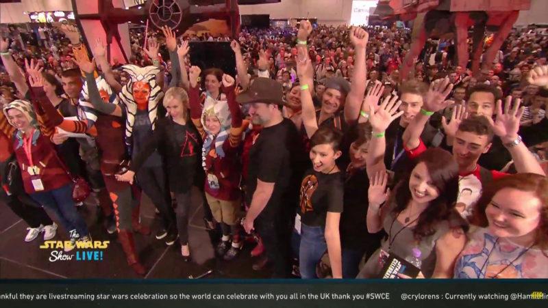 Celebration Europe 2016 - The Star Wars Show Live