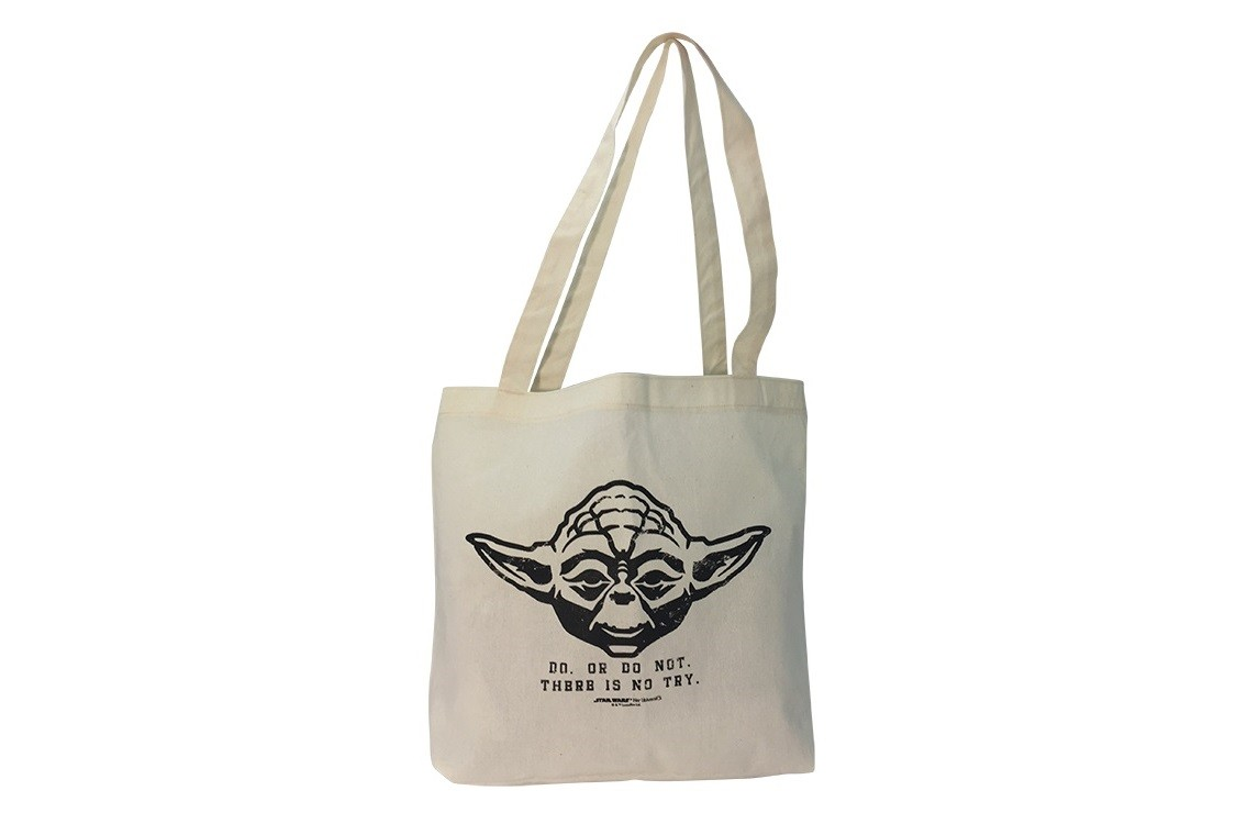 Free Yoda tote bag at Her Universe